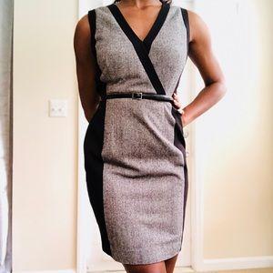 Calvin Klein wear to work knit dress